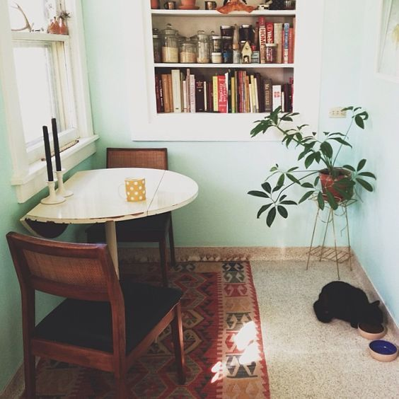 19 Brilliant Small Space Design Tips That Will Make Your Home Feel HUGE DiningDining SetDining