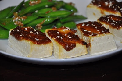 Tofu Dengaku (Broiled with Miso) | Recipes to try | Pinterest