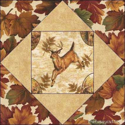 269 best QUILTS w PANELS images on Pinterest | Easy quilts, Kid ... : deer quilt patterns - Adamdwight.com