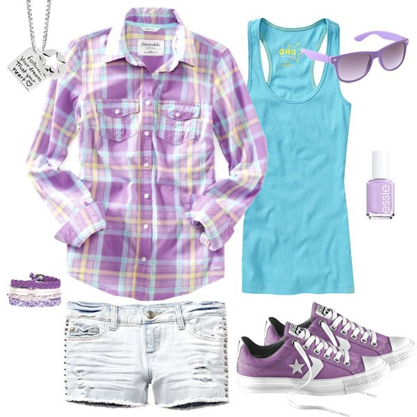Cute Camping Outfit | Freestyle | Pinterest | Teen Fashion Blog Plaid And Camps