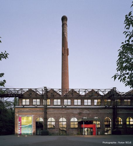 S&AA — Multimedia Library in an Old Factory