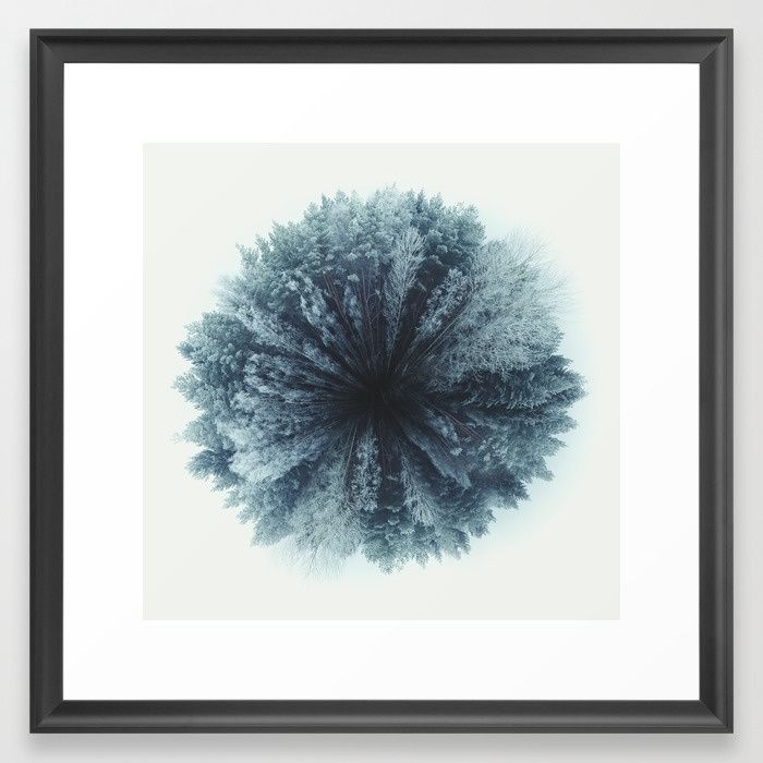 Forest world Framed Art Print by HappyMelvin | Society6