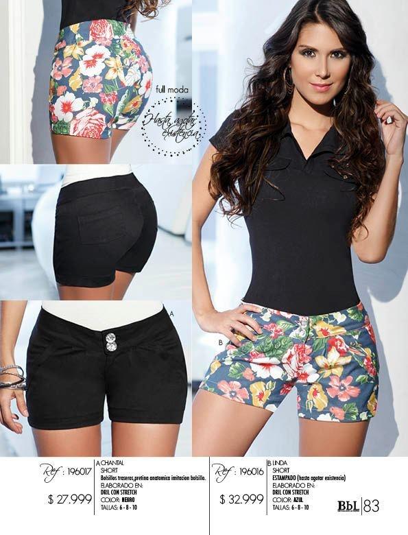 Los Short una de las prendas indispensables en el closet de una mujer, perfectos para usar  en cualquier ocasión informal, donde las protagonistas  serán las piernas.
