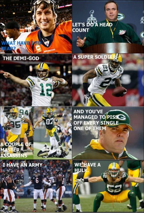 I shouldn't love this Packers/Avengers stuff as much as I should. -E