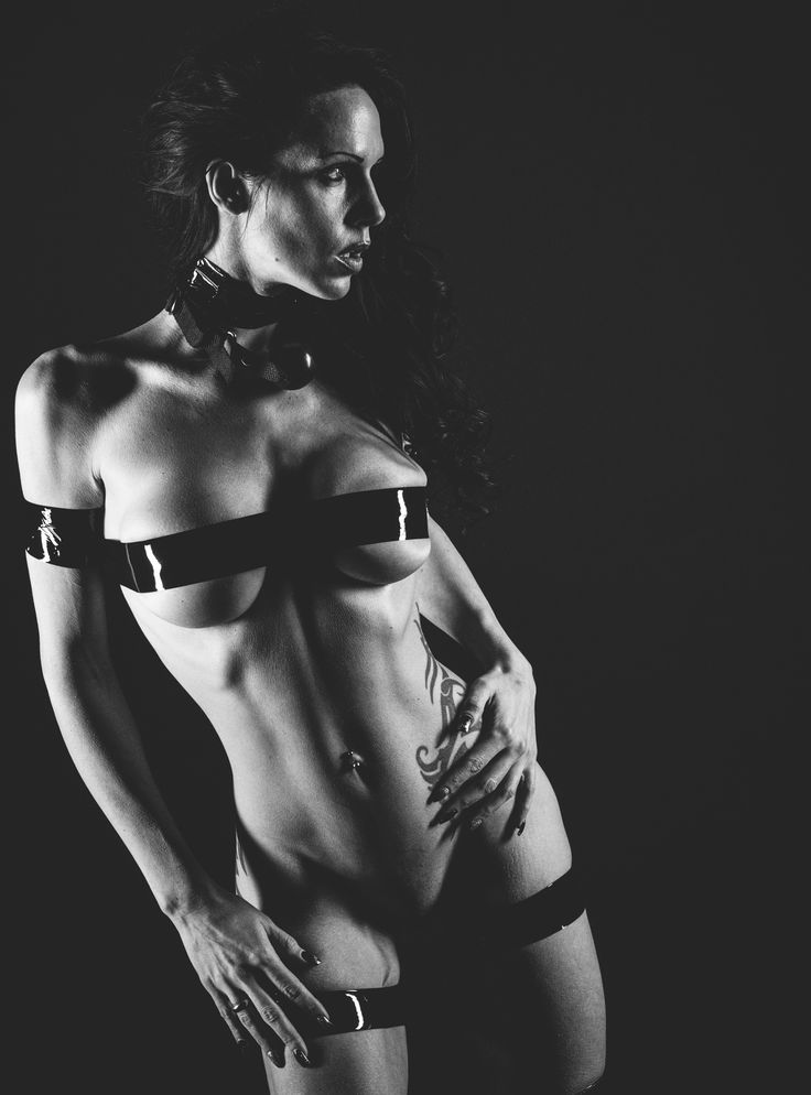 Dark Expression bondage tape ballgag