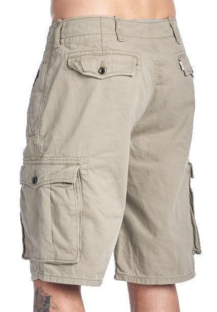 755b024ca3 LEVI'S #MEN'S #ACE #CARGO #TWILL #COTTON #SHORTS #RELAXED #FIT #TRUNKS  #BEIGE