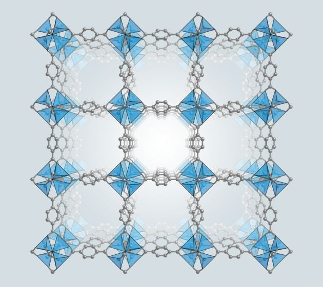 Materials science: The hole story Swiss-cheese-like materials called metal–organic frameworks have long promised to improve gas storage, separation and catalysis. Now they are coming of age.