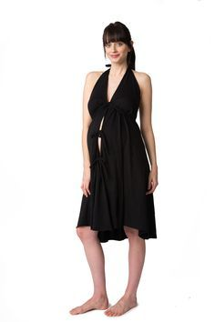 Pretty Pushers Labor & Delivery Gown