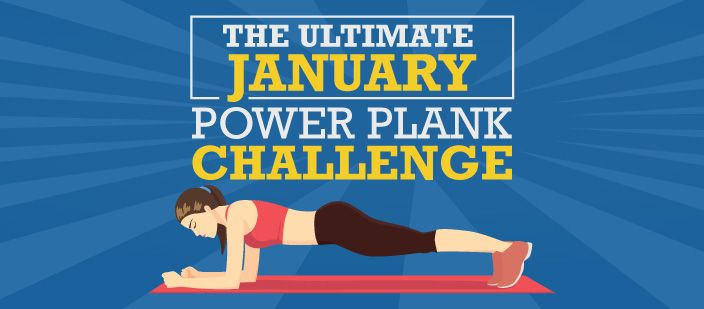 The Ultimate January Power Plank Workout Challenge
