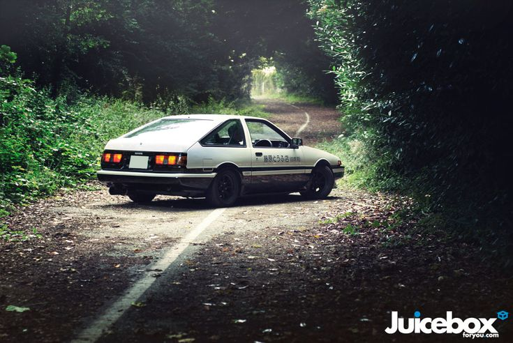 AE86. The car that started the drift craze