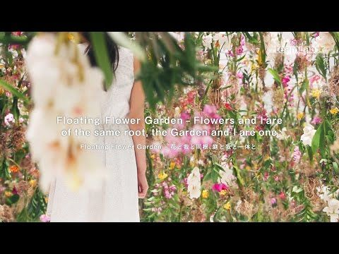 World of Driftwood: Floating Flowers | Teamlab