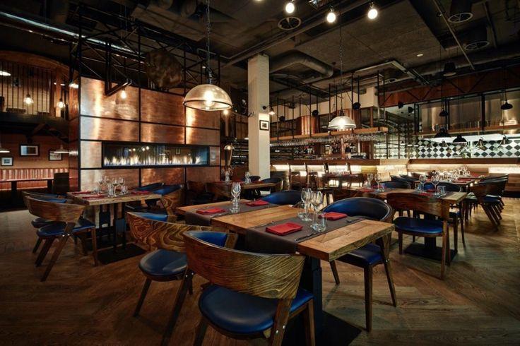 Nowa i stylowa restauracja Salina w Bochni. To projekt Grycaj Design