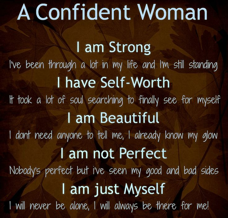 Strong Confident Woman Quotes: A Confident Woman