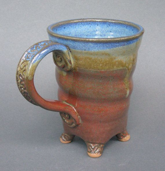 love this mug - esp handle and feet