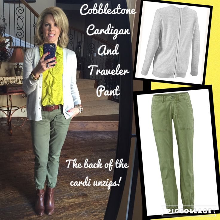 Cobblestone Cardigan, Traveler Pant and the Reign Blouse from fall '15. Cabi Spring '16 has so many great transitional pieces!