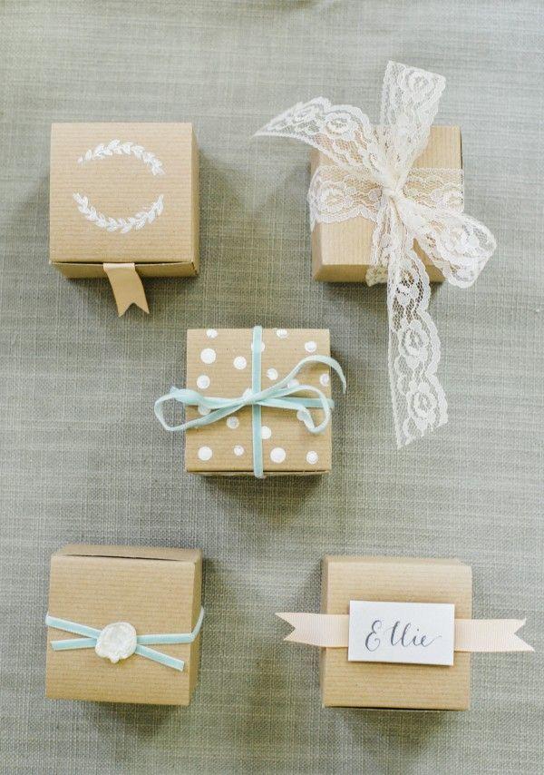 Diy Wedding Favor Boxes 5 Ways New On Glitter Guide Pinterest