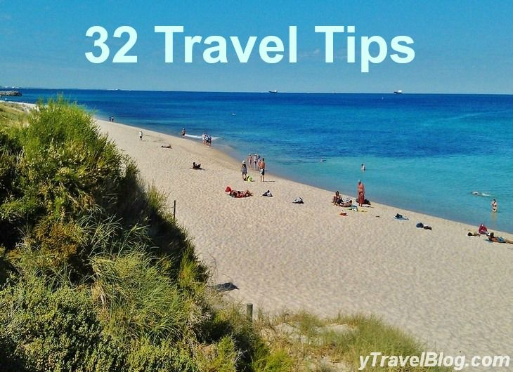 32 Travel Tips for travel: http://www.ytravelblog.com/32-travel-tips-for-a-cheaper-and-deeper-travelling-experience/