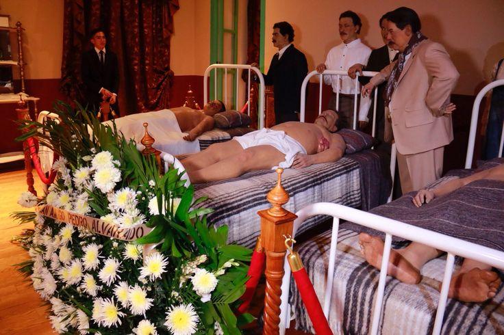 Realizan representación del velatorio de Francisco Villa