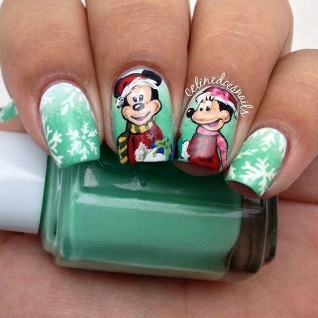 Mejores 36 imágenes de DISNEY NAILS en Pinterest | Arte de uñas ...