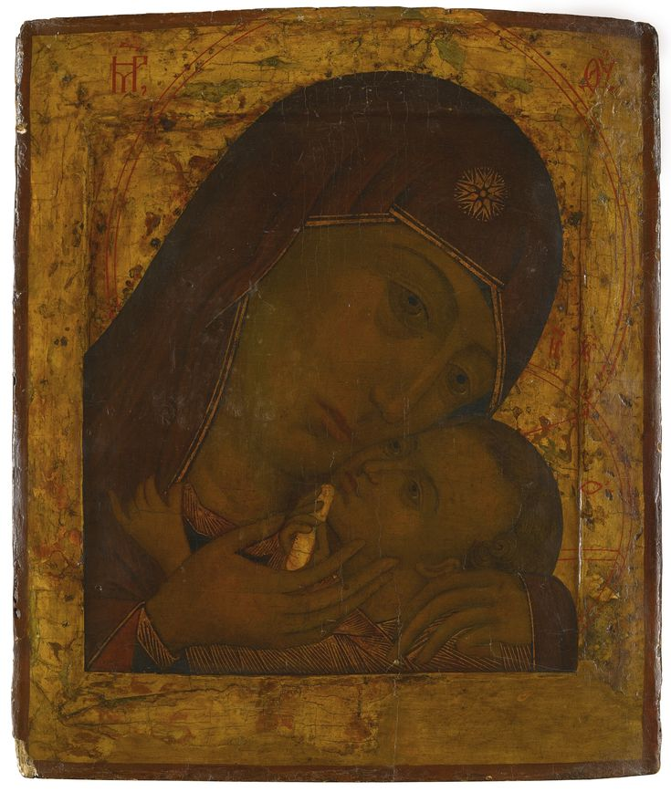 The Mother of God of Korsun, possibly circa 1600 or later | Lot | Sotheby's