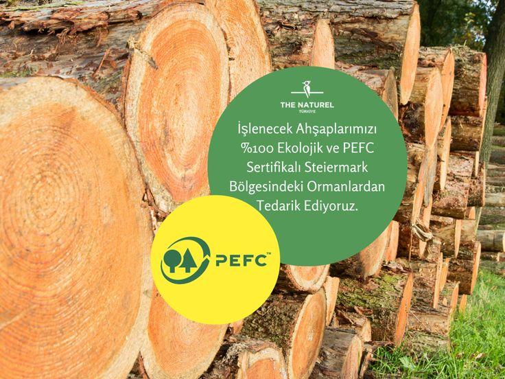 İşleme yaptığımız ahşabın büyük bir çoğunlunu %100 ekolojik ve PEFC sertifikası sahibi olan Steiermark bölgesindeki ormanlardan tedarik ediyoruz. Yüzeylerini mütemadi çevreye zararsız işliyoruz. #thenaturelcom #pefc #sertifika #wood #woodwork #ahşap #thermowood #deck #lamine #masif