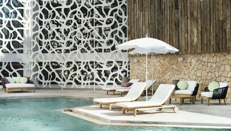 Tribù furnishes the Hard Rock hotel in Ibiza.