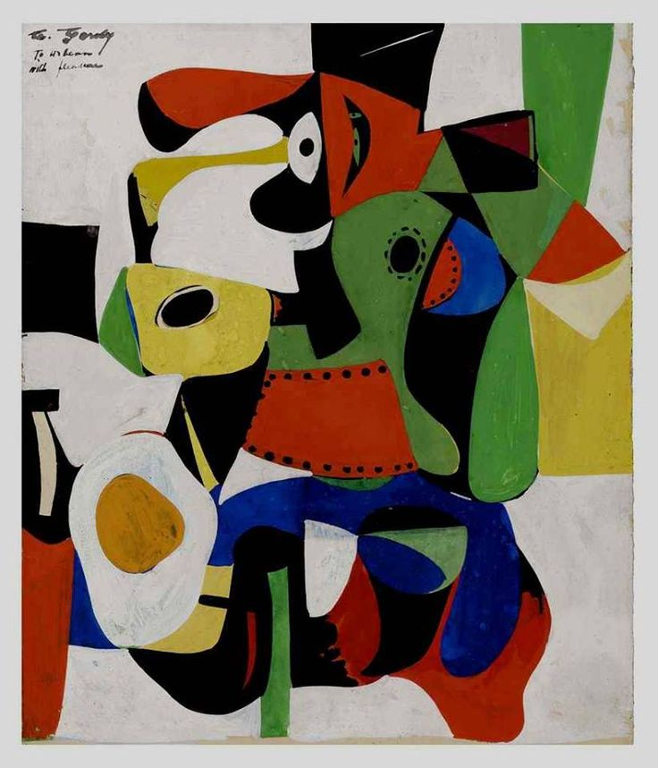 Arshile Gorky, born Vostanik Manoug Adoian, April 15, 1904 – July 21, 1948) was an Armenian-American painter, who had a seminal influence on Abstract Expressionism. He spent most his life as a national of the United States. Along with Mark Rothko, Jackson Pollock and Willem de Kooning, Gorky has been hailed as one of the most powerful American painters of the 20th century.