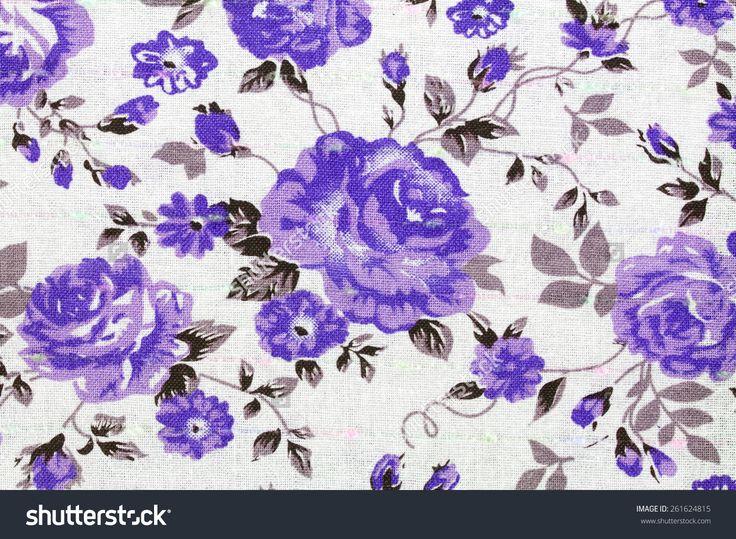 Abstract Floral Pattern Imagen de archivo (stock) 261624815 : Shutterstock