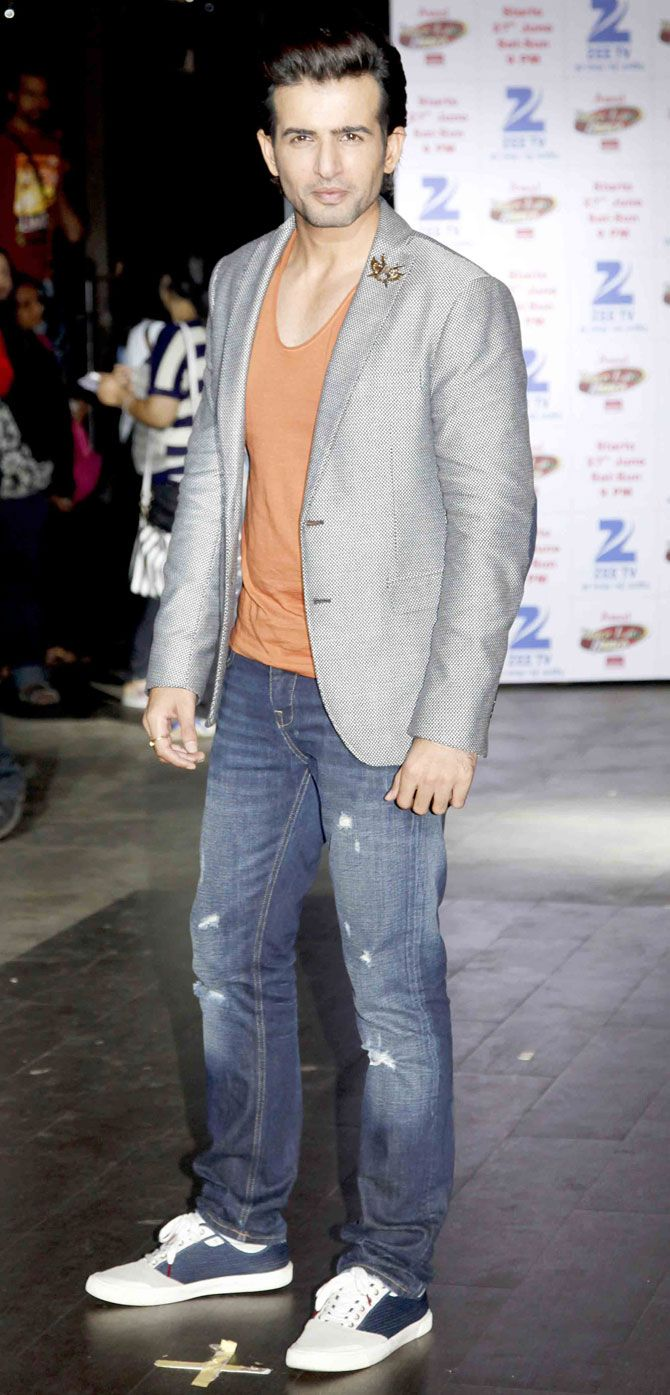 Jay Bhanushali at the launch of 'Dance India Dance' Season 5. #Bollywood #Fashion #Style #Handsome