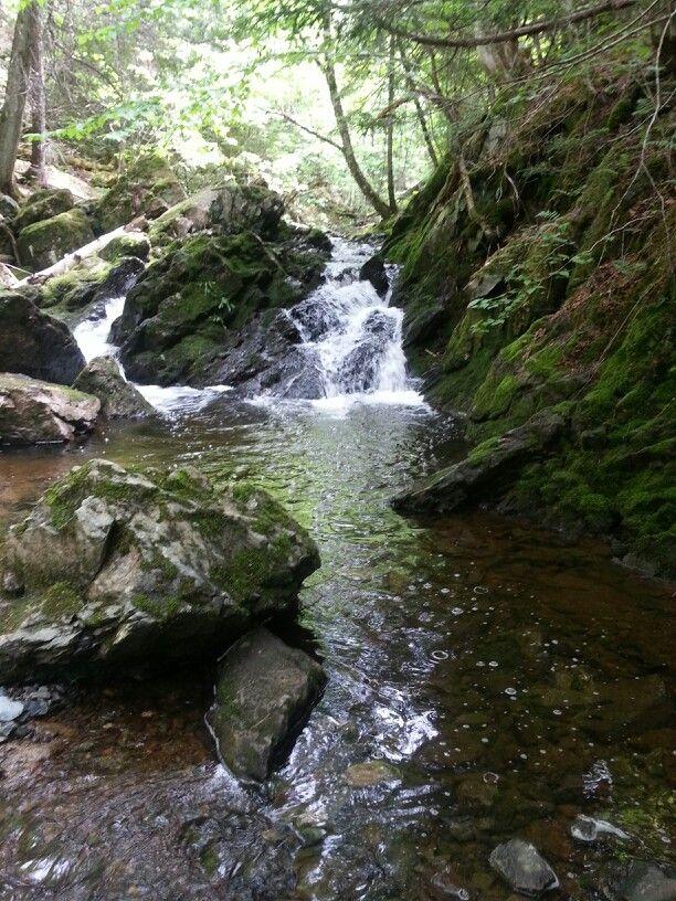 Lower Long Point Falls, Kiersteadville NB