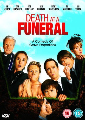Death at a Funeral [DVD]: Amazon.co.uk: Matthew Macfadyen, Keeley Hawes, Andy Nyman, Ewen Bremner, Daisy Donovan, Alan Tudyk, Jane Asher, Kris Marshall, Rupert Graves, Peter Vaughan, Thomas Wheatley, Peter Egan, Peter Dinklage, Brendan O'Hea, Jeremy Booth, Angela Curran, Gareth Milne, Frank Oz, Dean Craig: Film & TV