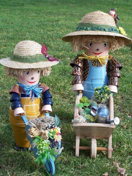 388 best clay pot crafts images on pinterest. Black Bedroom Furniture Sets. Home Design Ideas