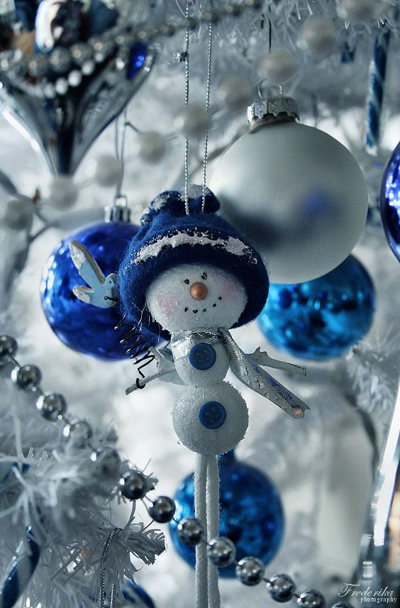 Best 182 Best Images About Blue Christmas On Pinterest 400 x 300