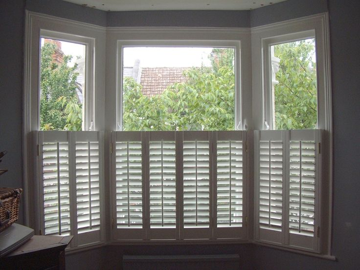 White Window Shutters Exterior