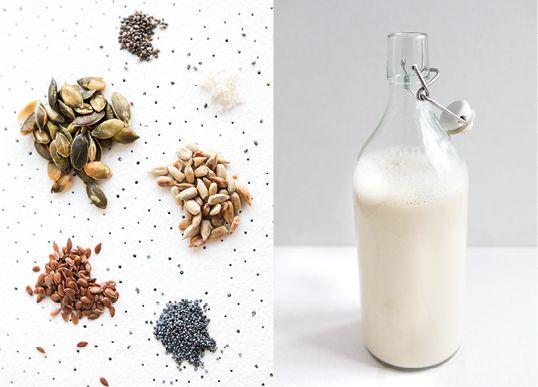 5 pomysłow na mleko. Orzechy i nasiona, choć małe i kruche, mają wielką moc. Miksujmy je i pijmy, a chętnie się nią podzielą!