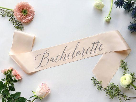 Shades of Pink btq Bachelorette sash