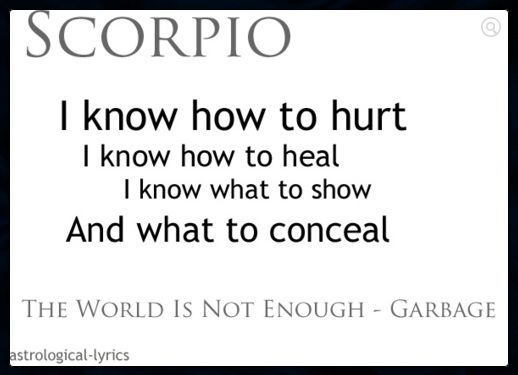 Scorpio's biggest secret is that they are ruled by a theme of transformation, and are literally the best emotional/spiritual healers of the zodiac.