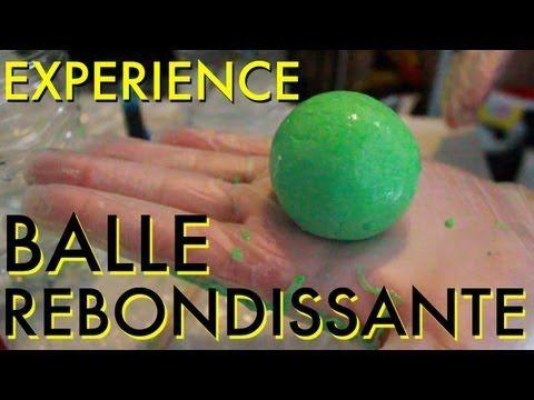 Comment fabriquer une balle rebondissante! Une expérience pour les plus grands! - Trucs et Bricolages