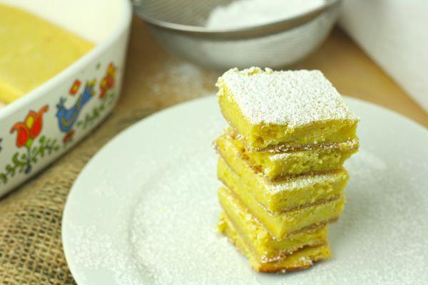 Lemon Bars - Healthy version!!!!