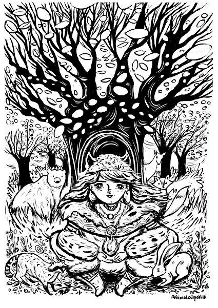 Earth spirit by Alexia Lougiaki