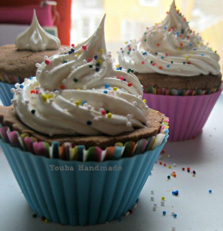Fizzing Bath Cupcake