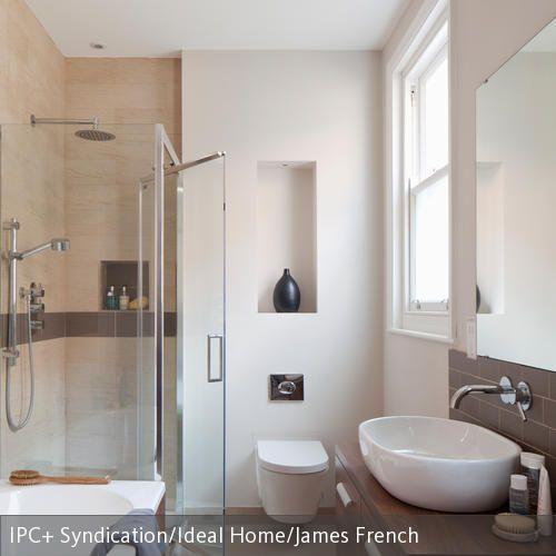 215 best Einrichtung images on Pinterest Shelving, Tv rooms and - glastür für badezimmer