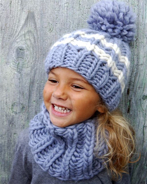 Children's fashion | love the color of this winterwear set.