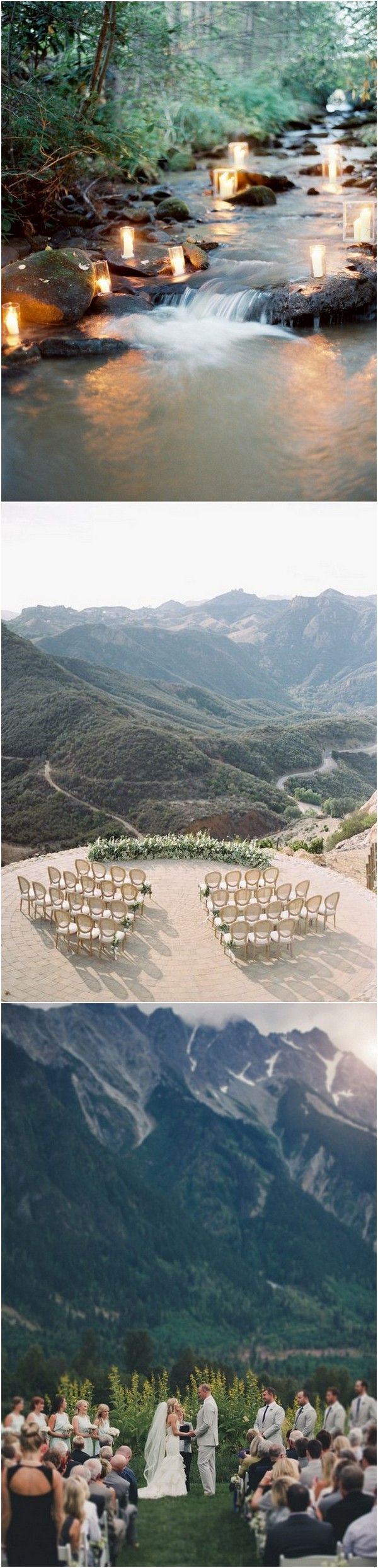 great wedding decoration ideas for mountain weddings_
