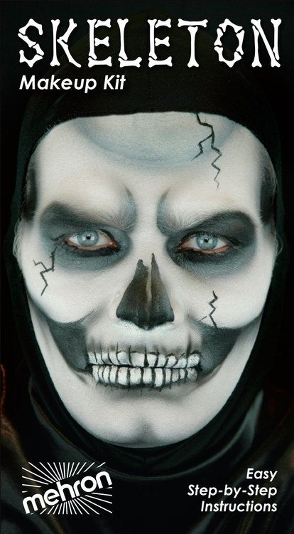 Image result for pirate zombie face painting