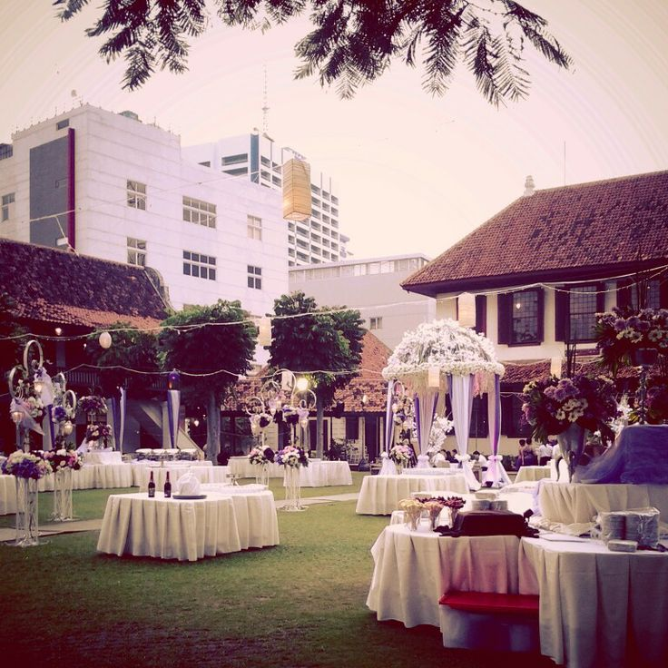 Wedding party in Indonesia