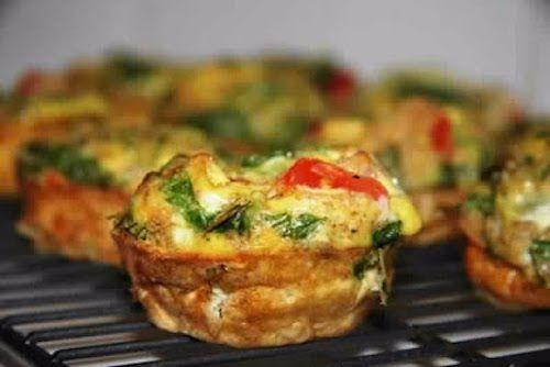 Breakfast egg muffins (slimming world friendly) |