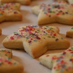 The Best Rolled Sugar Cookies - Allrecipes.com I'm going to try replacing half the butter with Greek yogurt!