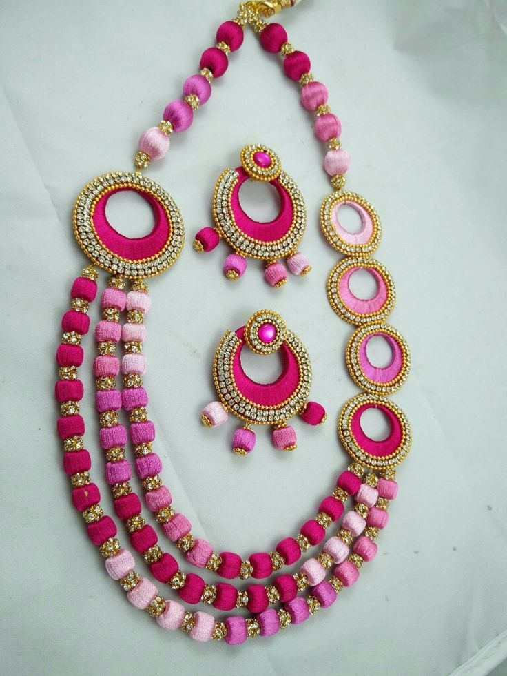 creations buy combo maruti large images online jewellery necklace thread designers silk designs beautiful