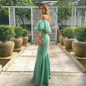 Mulher baixinha pode usar vestido longo? 10 vestidos de festa longos para mulheres baixinhas.